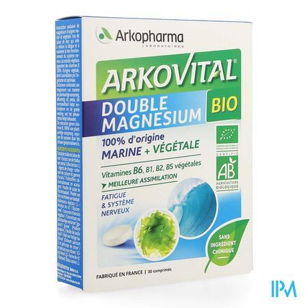 Arkovital Double Magnesium Bio Comp 30