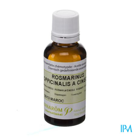 Pranarom Romarin A Cinéole EssentiËle Olie 30 ml