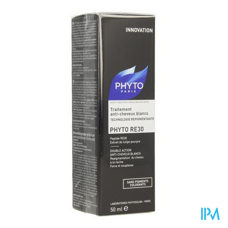 Phyto Re30 Behandeling A/wit Haar Fl 50ml