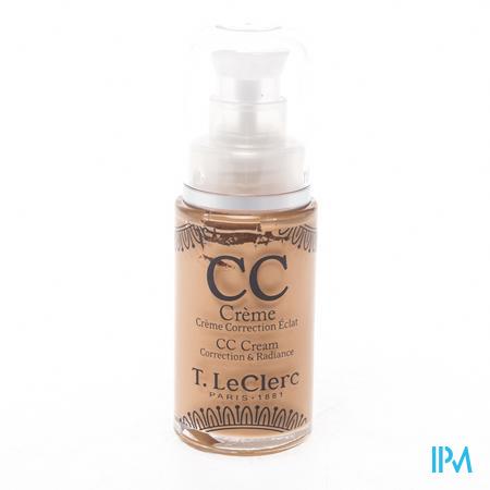 Afbeelding T. LeClerc CC Crème SPF 20   02 Moyen 28 ml.