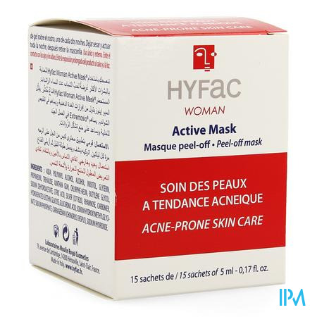 Hyfac Active Masker Peel Off 15x5ml