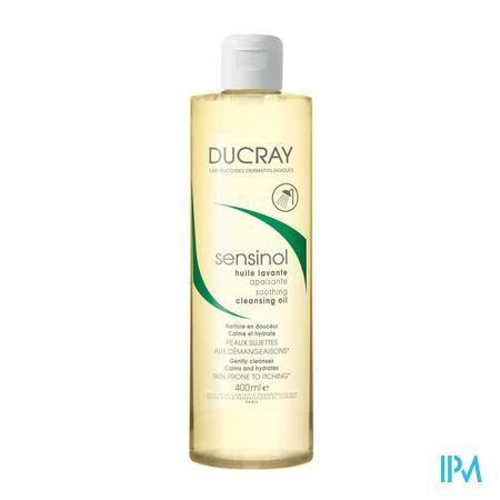 Afbeelding * Ducray Sensinol Kalmerende Reinigingsolie voor Droge en Jeukende Huid Flacon 400 ml.