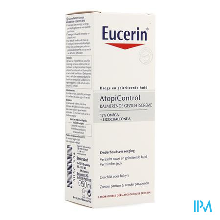 Afbeelding Eucerin AtopiControl Kalmerende Gezichtscrème 50ml.