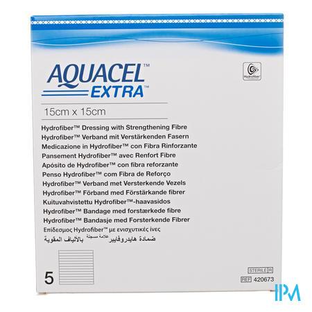 Aquacel Extra 15x15cm 5 stuks