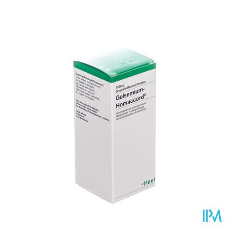 Gelsemium-homaccord Gouttes 100 ml Heel
