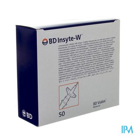 Bd Insyte-w Cath.iv 24g 3/4 0,7x19mm Geel50 381312