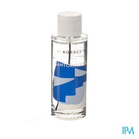 Afbeelding Korres Santorini Vine Eau de Cologne voor Mannen en Vrouwen Spray 100 ml.