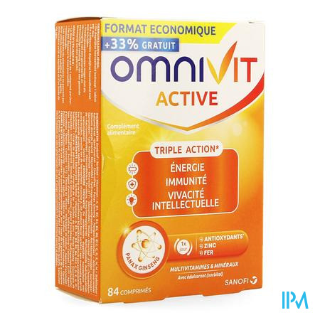 Omnivit Active Comp 84