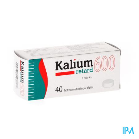 Kalium Retard 600 Comp 40x600mg