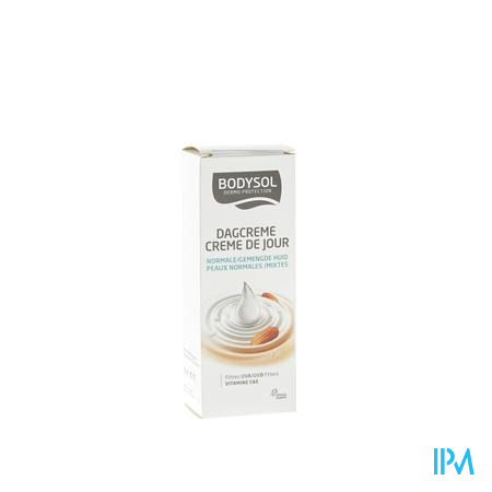 Bodysol Crème de Jour Hydratante pour Peaux Normales 50 ml