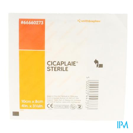 Cicaplaie Steriel Verband 10cm x 8cm 66660273 1 stuk