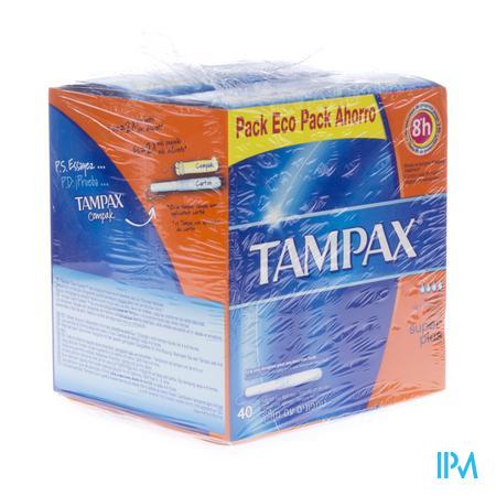 Tampax Super Plus 40 stuks