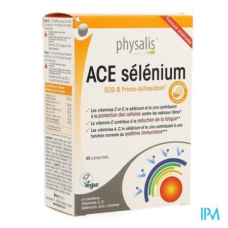 Physalis Ace Selenium + Sod Comp 45