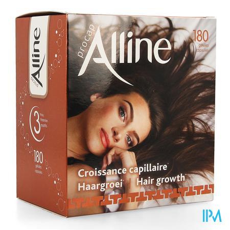 Afbeelding Alline Procap All in Nutrition voor Haargroei 180 Capsules.