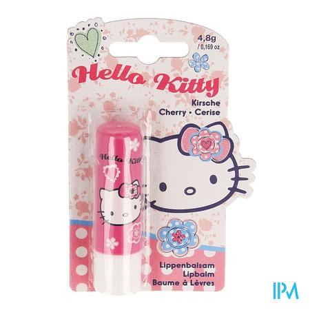 Disney Hello Kitty Bout.lipbalsem Aardbei 4,8g