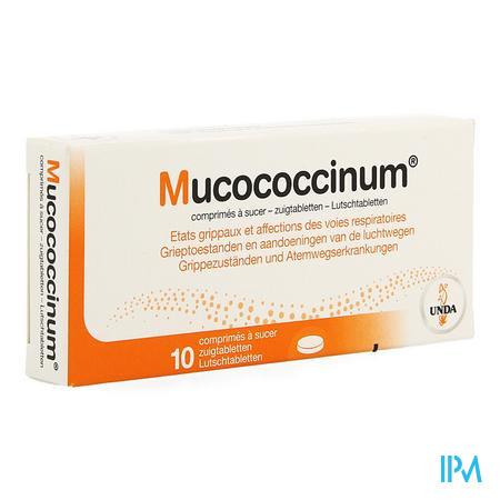 Mucococcinum Comprimés 200 Blister 10 Unda
