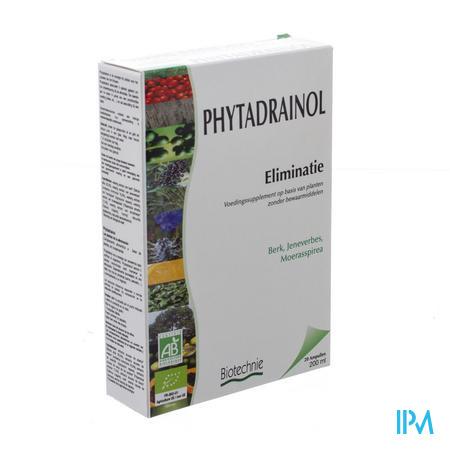 Biotechnie Phytadrainol Bio 20 x 10 ml ampoules