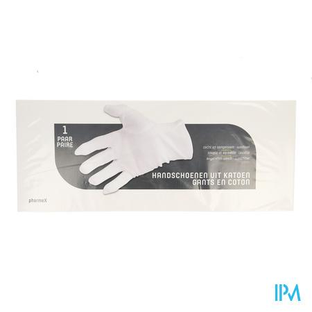 Pharmex Handschoen Katoen X-large 2