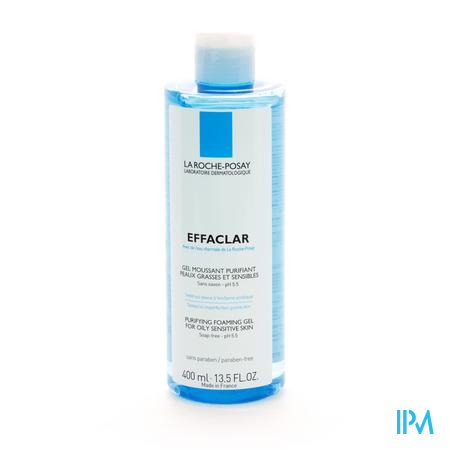 La Roche Posay Effaclar Gel Mousse Purifiant 400 ml flacon