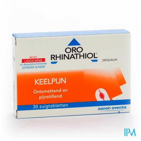 ORORHINATHIOL 30ZUIGTAB