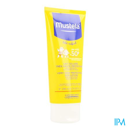 Mustela Baby Zonnespray Spf 50 200 ml