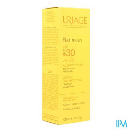 Afbeelding Uriage Bariésun Zonnemelk SPF 30 voor Gelaat en Lichaam Tube 100 ml.