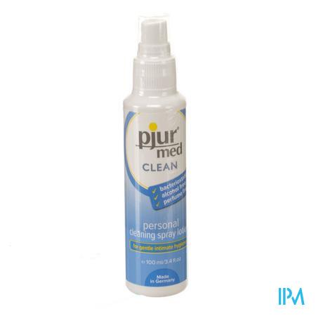 Pjur Med Clean Glijmiddel 100 ml spray