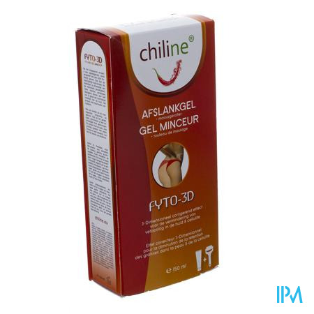 Chiline Afslankgel Fyto-3D + Massageroller Gratis Kennismakingsaanbod 150 ml
