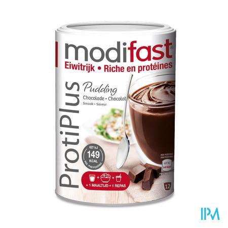 Farmawebshop - MODIFAST PROTIPLUS PUDDING CHOCOLADE 540G