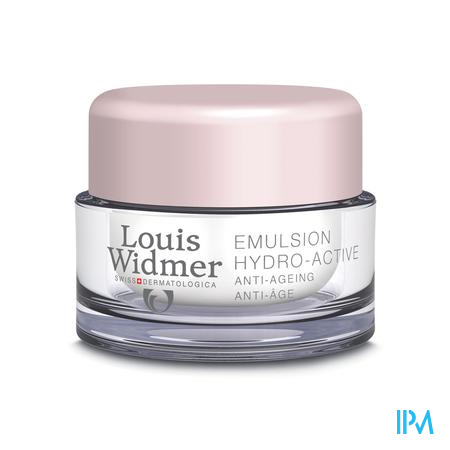 Louis Widmer Dagcrème Hydro-Active (zonder parfum) 50 ml
