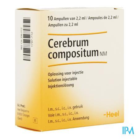 Cerebrum Compositum N Ii Amp 10x2,2ml Heel