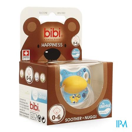 Bibi Fopspeen Hp Dental Birdy 0-6m