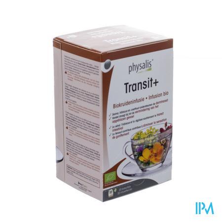 Physalis Transit + Infusie Bio Zakje 20x1,5g