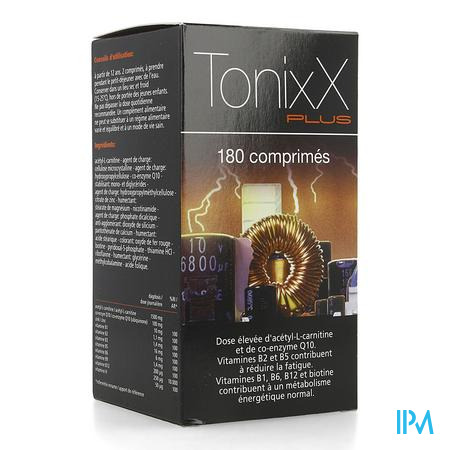 Tonixx Plus 180 Capsule  -  Ixx Pharma