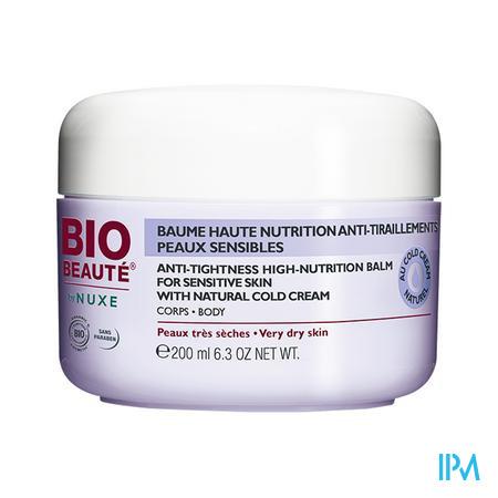 Afbeelding Nuxe Bio Beauté Uiterst Voedende Lichaamsbalsem met Cold Cream voor Zeer Droge Huid 200 ml.