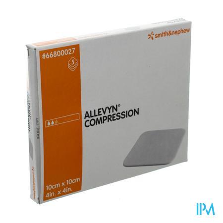 Allevyn Compression Pansement 10X10Cm 66047583 5 pièces