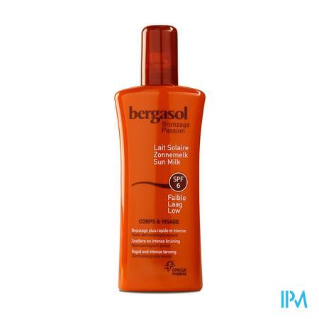 Bergasol Frisse Melkspray Ip6 125ml Spray