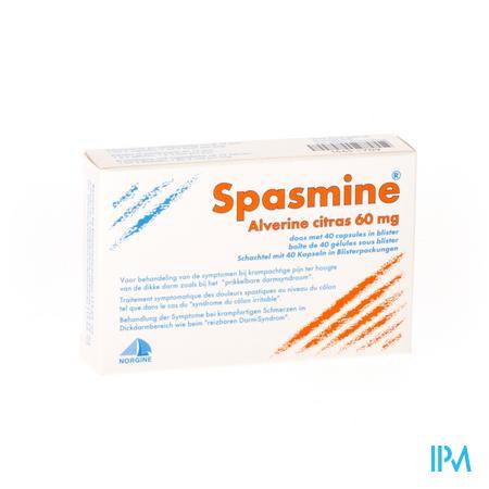 Spasmine Capsule 40 X 60 mg