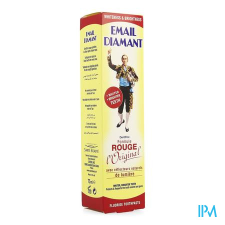 Email Diamant Tandpasta Rode Formule 75ml