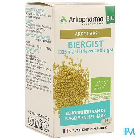 Arkogelules Biergist Bio Caps 45