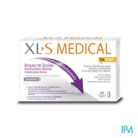 XLS Medical Bloqueur de Glucides 60 comprimés PROMO -30%