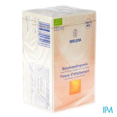 Weleda Tisane Allaitement Bio 20 x 2 g sachets