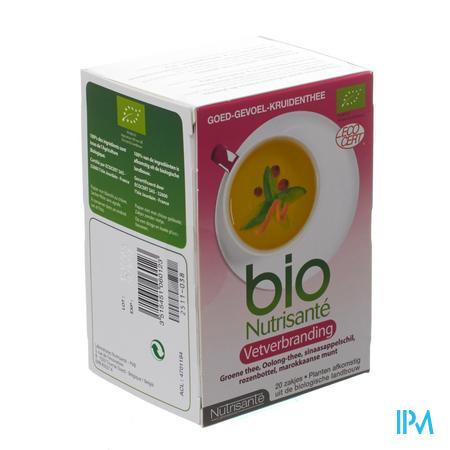 Infusie Bio Vetverbrander 20 zakjes