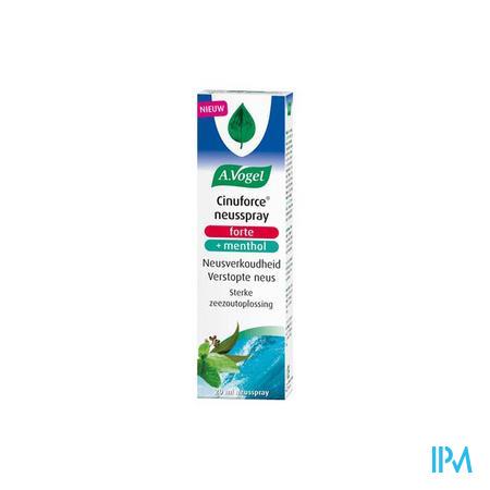 Vogel Cinuforce Neusspray Forte + Menthol 20 ml  -  Biohorma