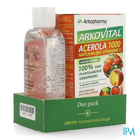 Arkovital Acerola Duopack Comp 60+hydro.gel 100ml