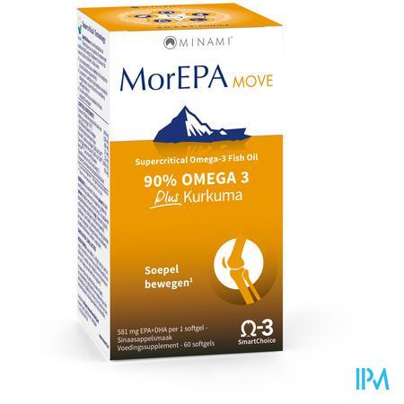 Minami Morepa Move Plus Curcuma Softgels 60