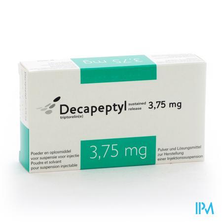 Decapeptyl Sr 3,75 mg Flacon Lyo Im Sol