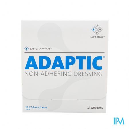 Adaptic 7.6cm x 7.6cm 10 stuks