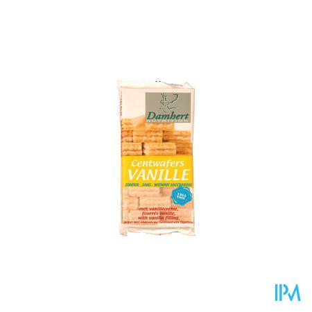 Damhert Centwafers Vanille tagatose 150 g