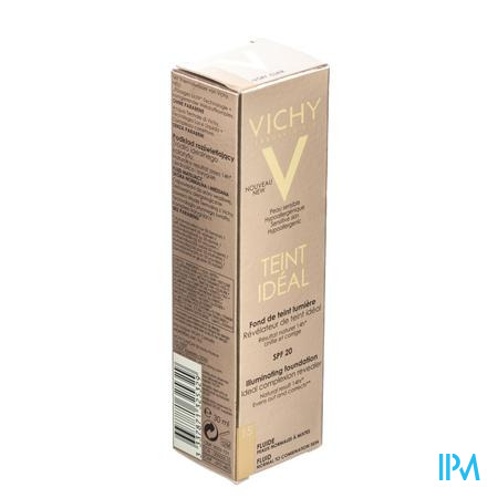 Vichy Teint Idéal Fond De Teint Fluide 15 Ivoire 30 ml